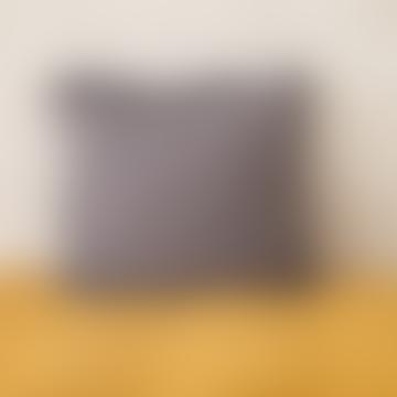 45 x 45cm Dark Grey Linen Cushion Cover