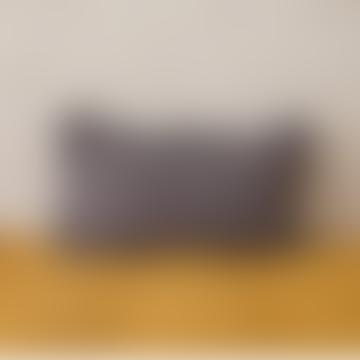 30 x 50cm Dark Grey Linen Cushion Cover