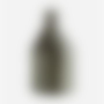 Madam Stoltz Small Stoneware Bottle Vase Grey