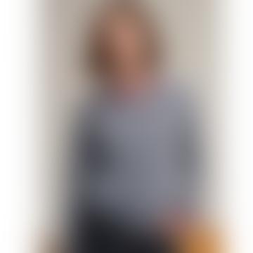 Heather Blue Shetland Wool Jersey