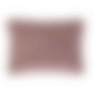 Ib Laursen Dusky Pink Malva Velvet Cushion - 70x50