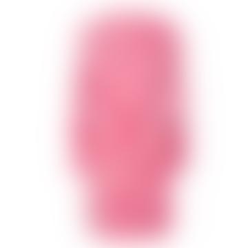Lipa Pink Floral Stencil Tunic Dress