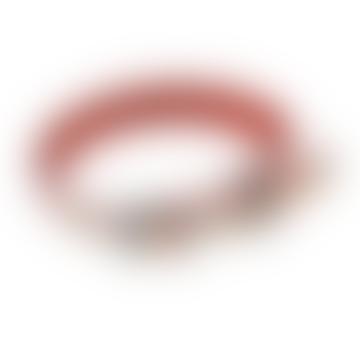 Rex London Medium Mid Century Poppy Dog Collar