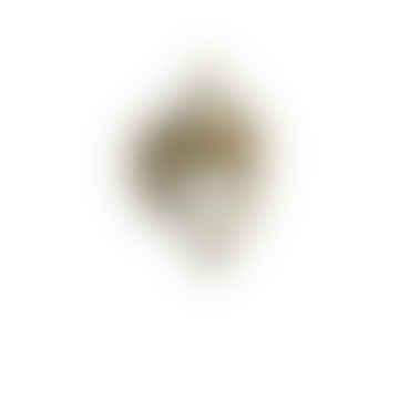 CollardManson 925 Silver Mendi Ring Gold Plated