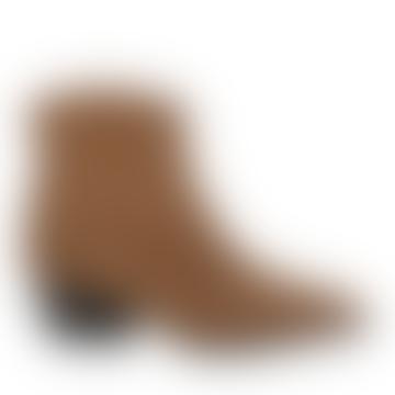 Brown Lexa Suede Boot