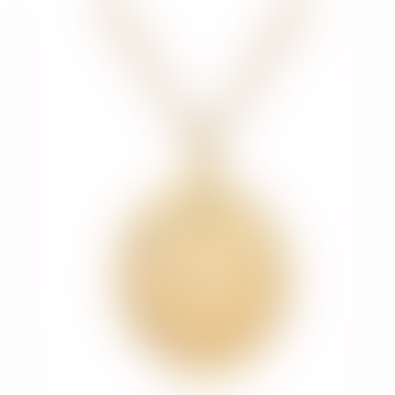 Gold Plated Sterling Silver Necklace ZODIAC