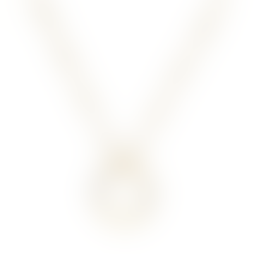 Gold Plated Sterling Silver Necklace Life Circle