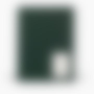 NOTEM Large Dark Green Cloth Even Work Journal