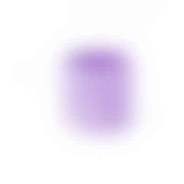 Salt Studios Purple & White Terrazzo Pot Medium