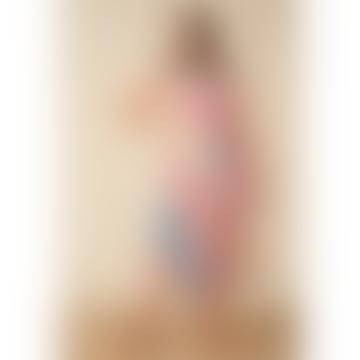 Margot Rainbow Stripe Midi Dress
