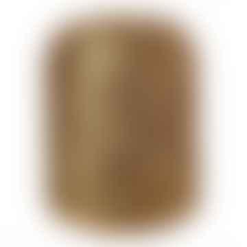 Gold Woven Pill Stool