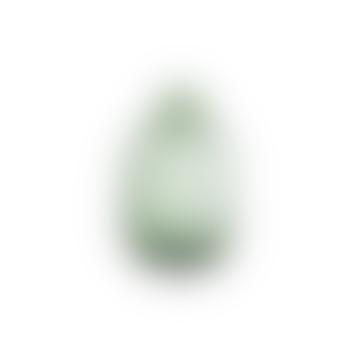 Nkuku Lua Green Glass Bottle Vase Small