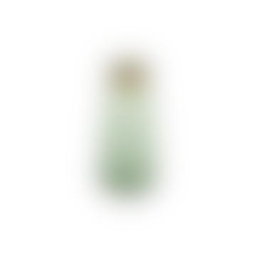 Miza Green Glass Vase Large Tall