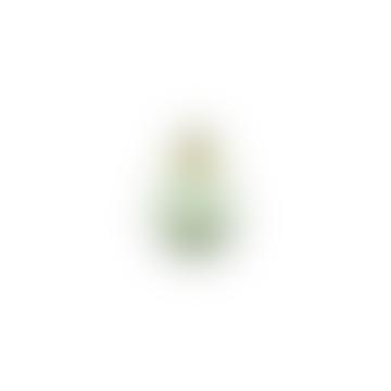 Miza Mini Green Glass Vase Medium