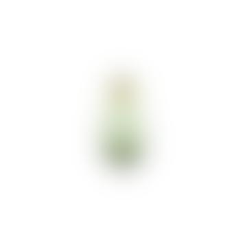 Nkuku Miza Mini Green Glass Vase Large