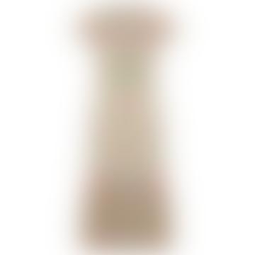Floral Pastel Castille Midi Length Dress