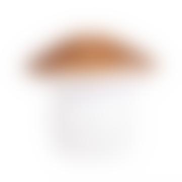 Medium Copper Mushroom Lamp