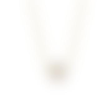 Multi CZ Open Star Necklace