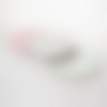 Handmade Terracota Mini Plate (Pink, Grey, Aqua Green) - Set of 3