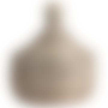 Large White Sene Jewelry Basket