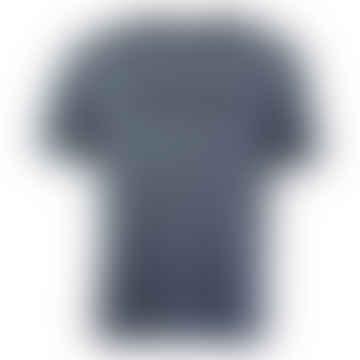 NICCE Drift Relaxed Fit T Shirt Deep Navy