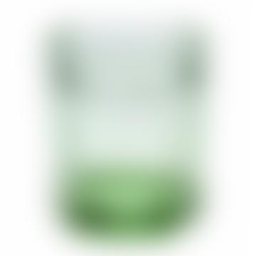 Serax Set of 4 Medium Green Transparent Glasses
