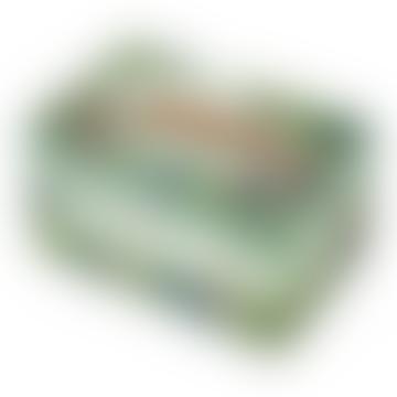 Trousselier Green Savannah Musical Jewelry Box