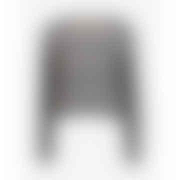 Cedar Jumper Black White Melange