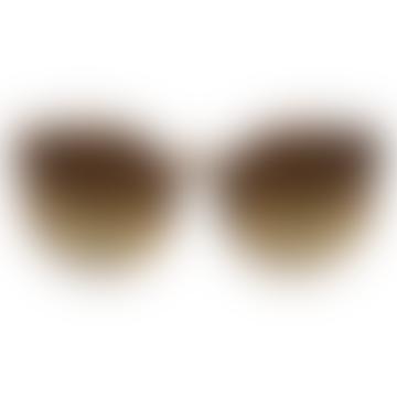 Komono Lulu Metal Series Tortoise Rose Gold Sunglasses