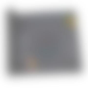 Jaq Jaq Bird Gray Reusable Chalk Table Runner Set