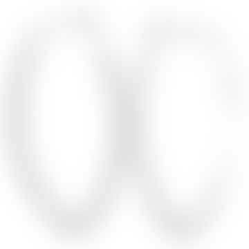 CollardManson 925 Silver Thin Earrings Oval