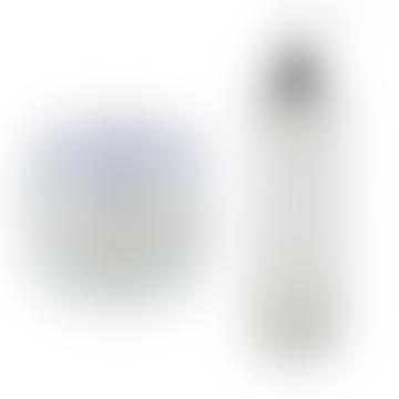 Apothespa Bergamot & Tea Tree Moisturiser & Facial Wash Set Large
