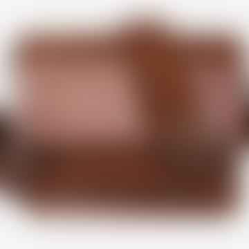 Cayman Pocket Vegan Bag - Chocolate