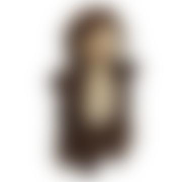 Hérisson Doudou marionnette à main