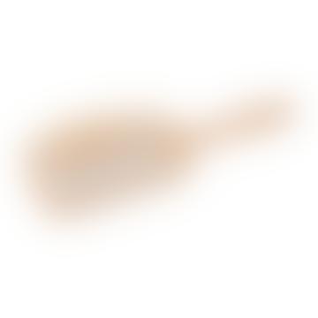 Wooden Hairbrush Rectangular Large