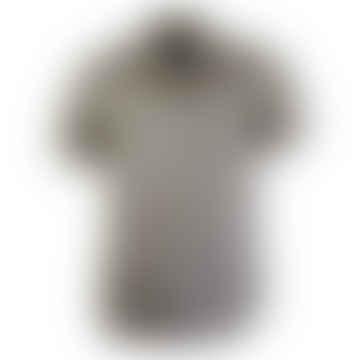 Far Afield Mod Button Down Short Sleeved Shirt Flamencos