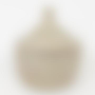 Afroart White Sene Storage Basket Size XXL