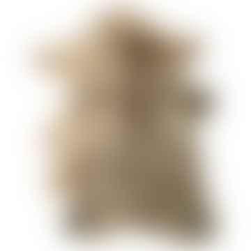 Grey Brown Marled Lambskins