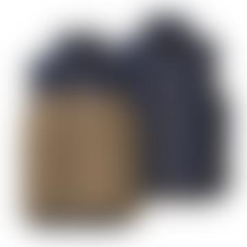 Patagonia Ash Tan Reversible Mens Bivy Down Vest