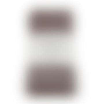 """Aspegren Denmark Set of 4 Linen Napkins, Colour """"Rose Brown"""""""