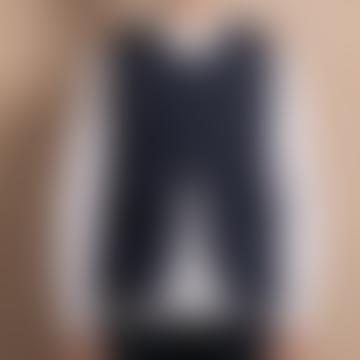 Twc Puffer Vest Navy Grey