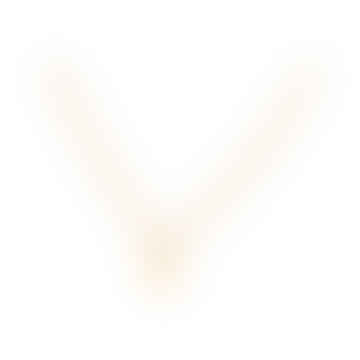 Small Note Gold necklace with a small letter pendant E