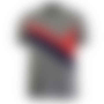 Archive Panel Polo Shirt Mid Grey Marl