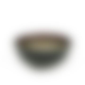 10.8 x 5cm Misty Grey and Dark Blue Bowl