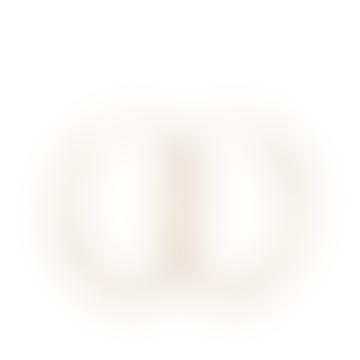 Pernille Corydon 4cm Gold Plain Hoops