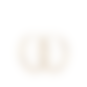 Pernille Corydon 3cm Gold Plain Hoops