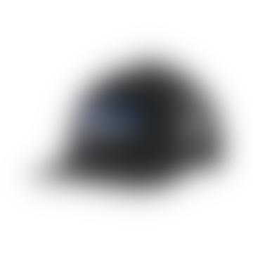 Patagonia Black P-6 Logo LoPro Trucker Hat