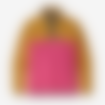 Ultra Pink Micro D Snap-T Fleece Mens Pullover