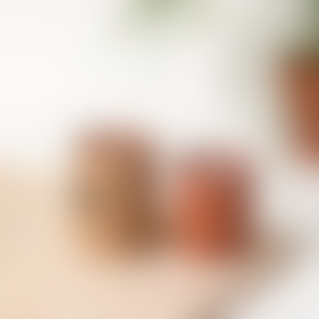 """Geranium Terracotta Candle"""""""