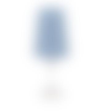Großer blauer perforierter Lampenschirm